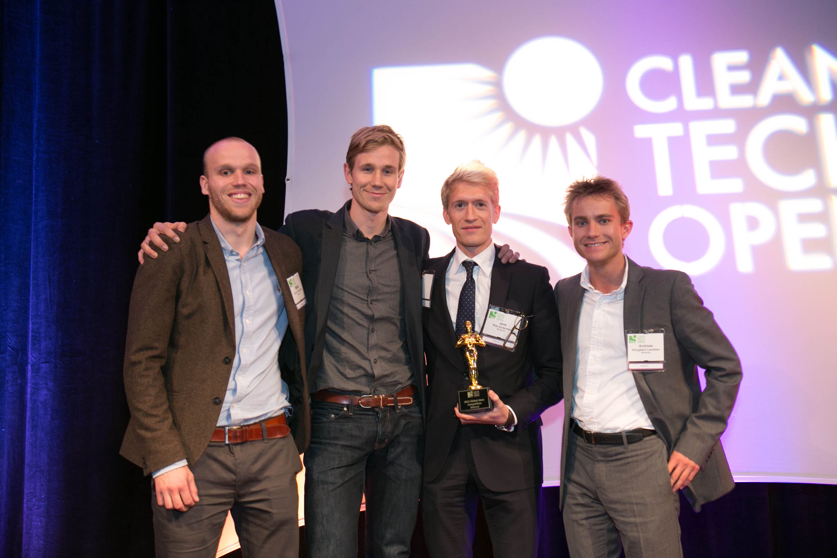 Biosyntia of Denmark won the 2012 Cleantech Open Global Ideas Competition.