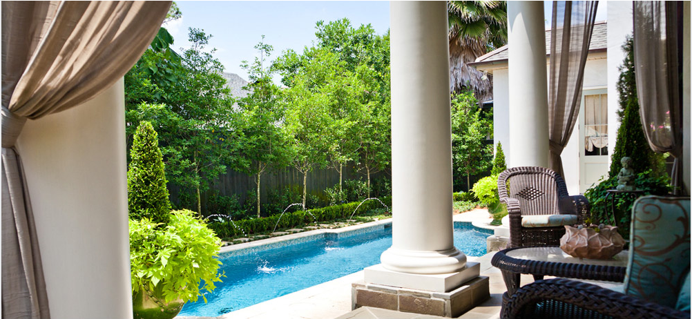 Landscape design in new orleans and metairie for Pool design new orleans