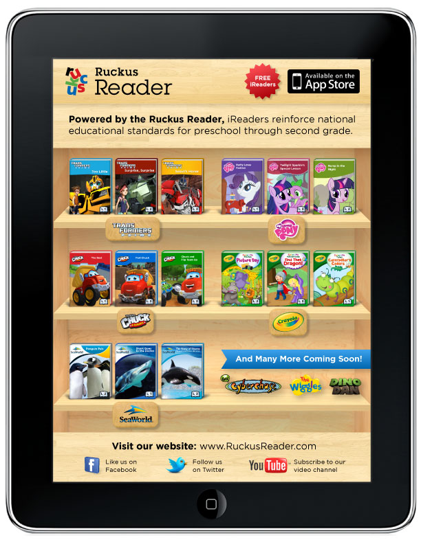 Ruckus Reader Launch iReaders