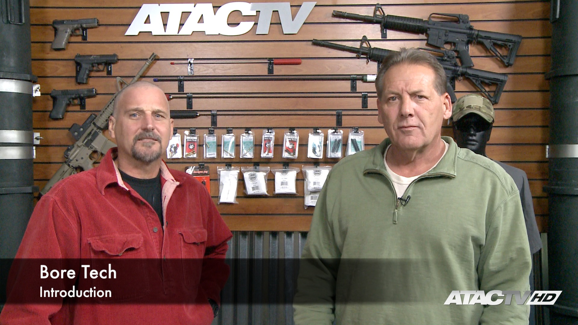 Bore Tech products on ATAC TV Firearms