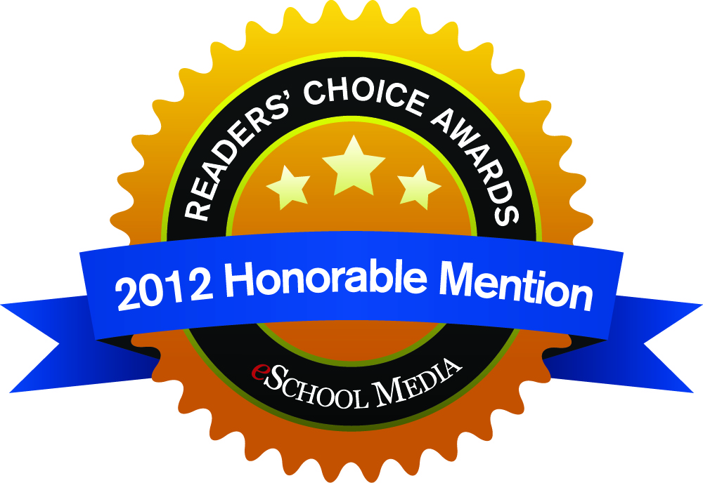 Screen Capture, Screencasting and Screen Recording solution Camtasia Studio by TechSmith Receives Honorable Mention in the eSchool News 2012 Reader's Choice Awards