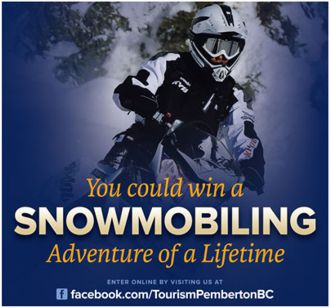 Win a Snowmobile Adventure of a Lifetime in Pemberton, BC