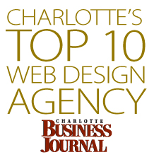 The Idea People in Charlotte, NC have been selected as a Top 10 Web Design Company for 2012 by the Charlotte Business Journal.