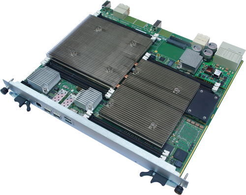 ATCA Blade with Dual Eight-Core Intel Xeon Processor E5-2600 family