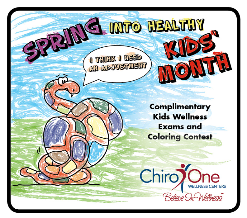 Chiro One Wellness Centers is reaching out to kids in March with free Chiropractic exams at all locations in Chicagoland, Kentucky & Texas.