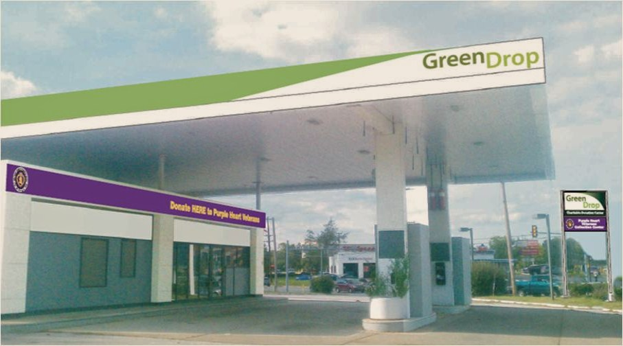 This new breed of charitable donation center, located at 240 Pennell Road, is a repurposed former Exxon gas station located at Aston's hub - Five Points - bringing new jobs, additional tax revenues, and an easy, new way for the Aston community to recycle clothing, blankets, small appliances and housewares in both a responsible and charitable way.