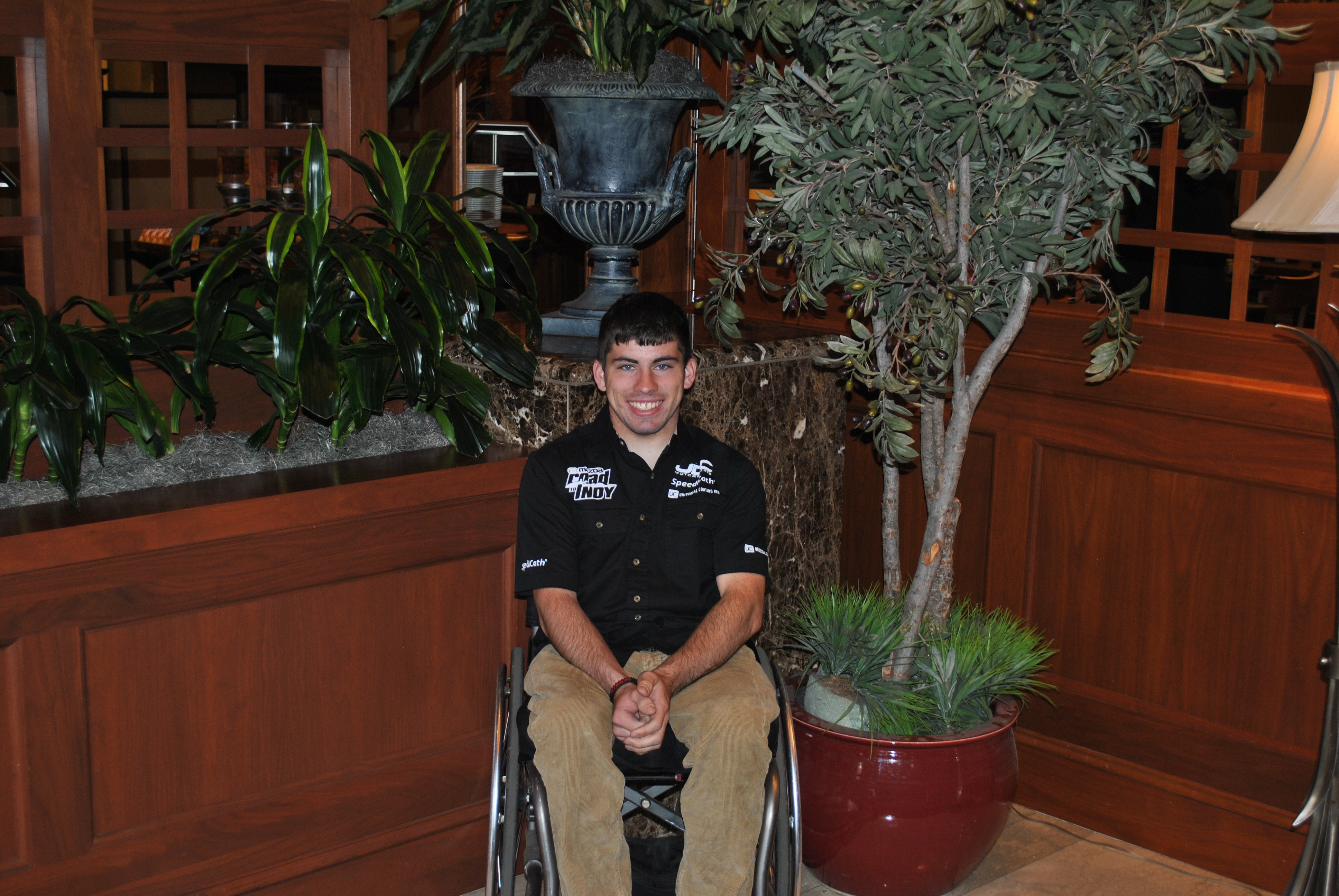 Coloplast North America has announced a corporate sponsorship of Michael Johnson, formula racing's first paralyzed driver.