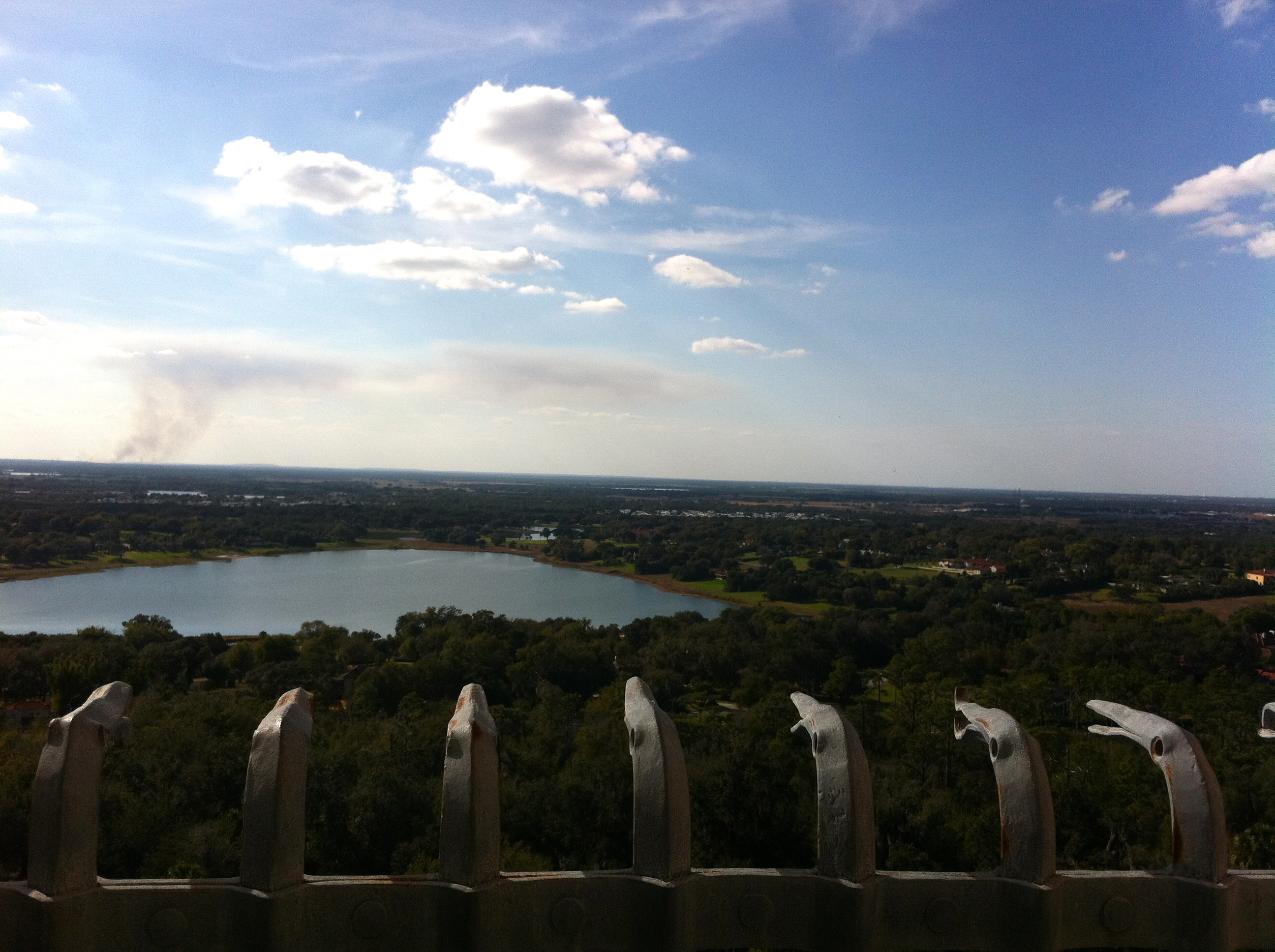 View from the top of Bok Tower