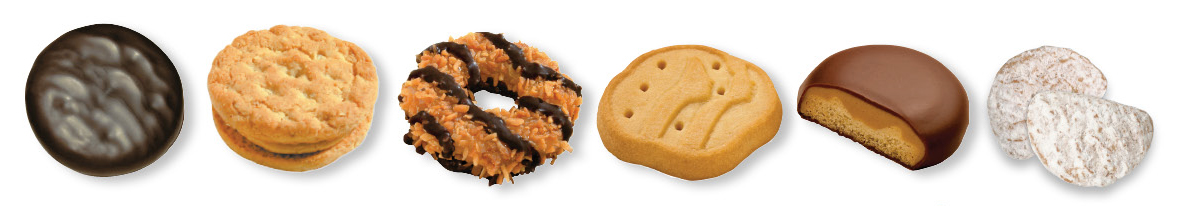 2013 Girl Scouts of Colorado Cookies