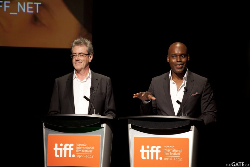 Toronto International Film Festival 2012 opening press conference with Piers Handling and Cameron Bailey