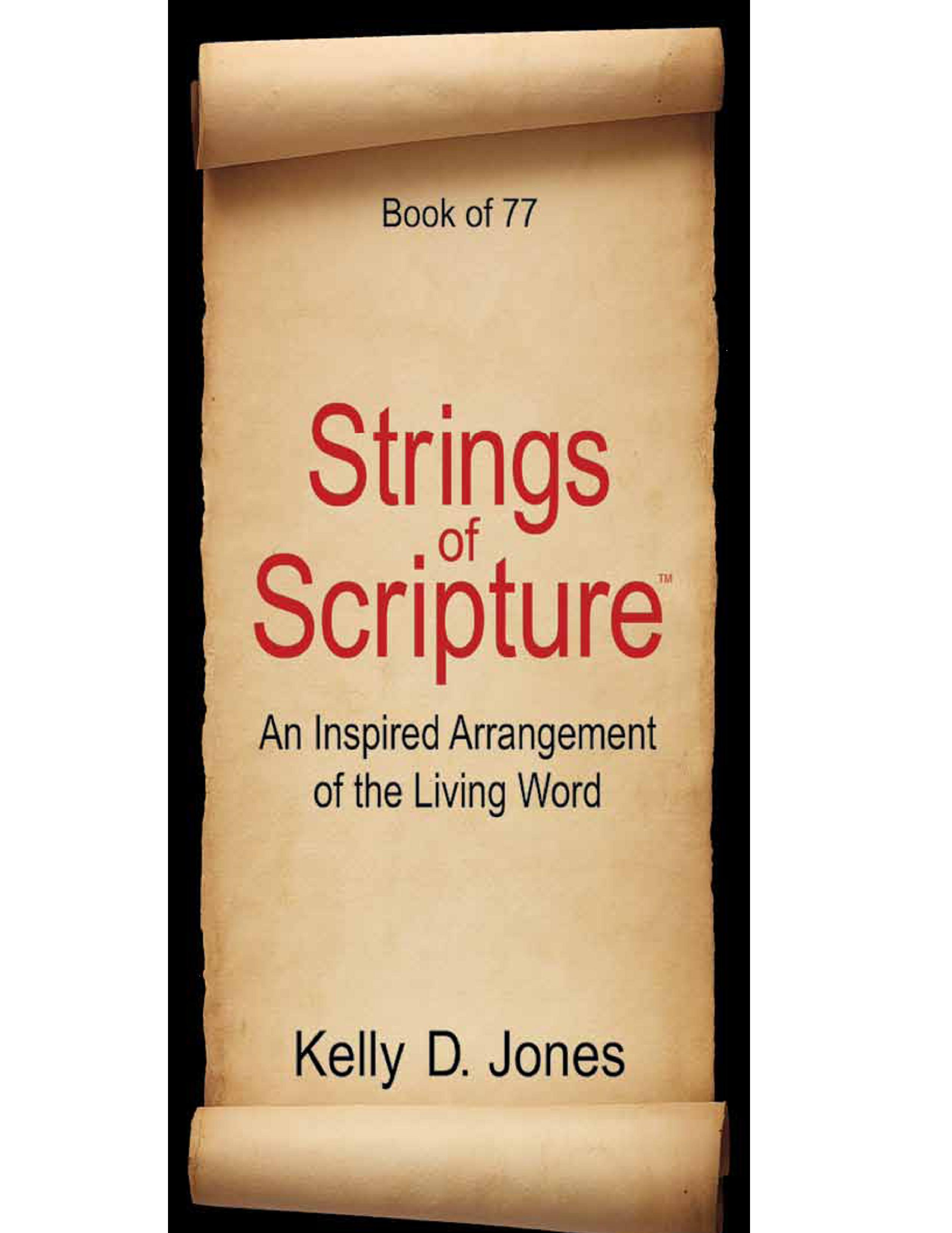 Strings of Scripture, published by Inside Out Publishing, LLC, features 77 poetic strings.  String # 47 - Clean Up Your Planet is particularly appropriate this Earth Day.