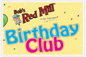Bob's Red Mill Birthday Club Logo