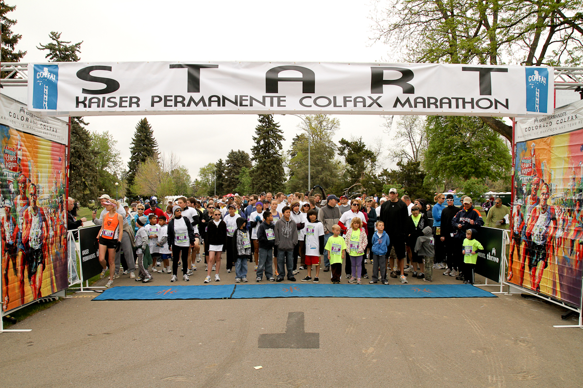 Race start, 2011. Photo by John Flickinger.