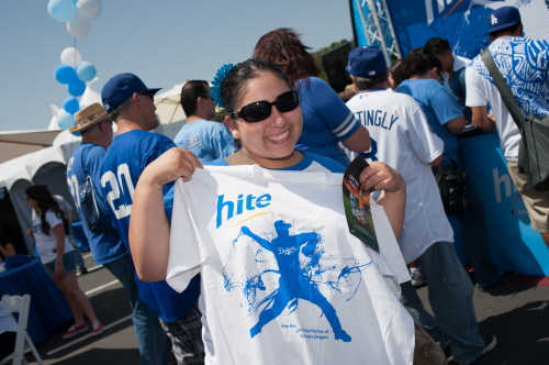 Exclusive Dodger's Hite T-shirts!