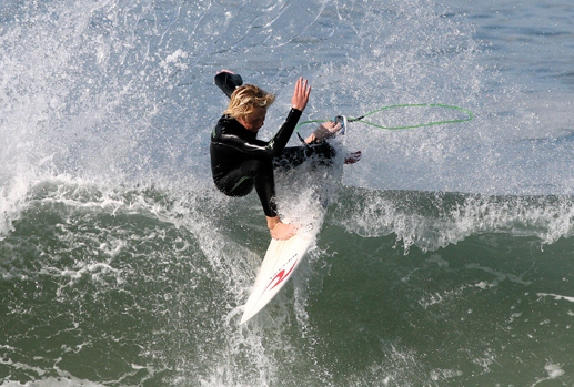 Pro Surfer Taylor Clark is a top competitor in the NSSA Southwest Conference and recently landed a spot on the Pac Sun USA Surf Team.