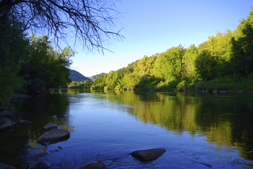 The Animas River - Durango, Colorado. (Photo: Duffy Brook)
