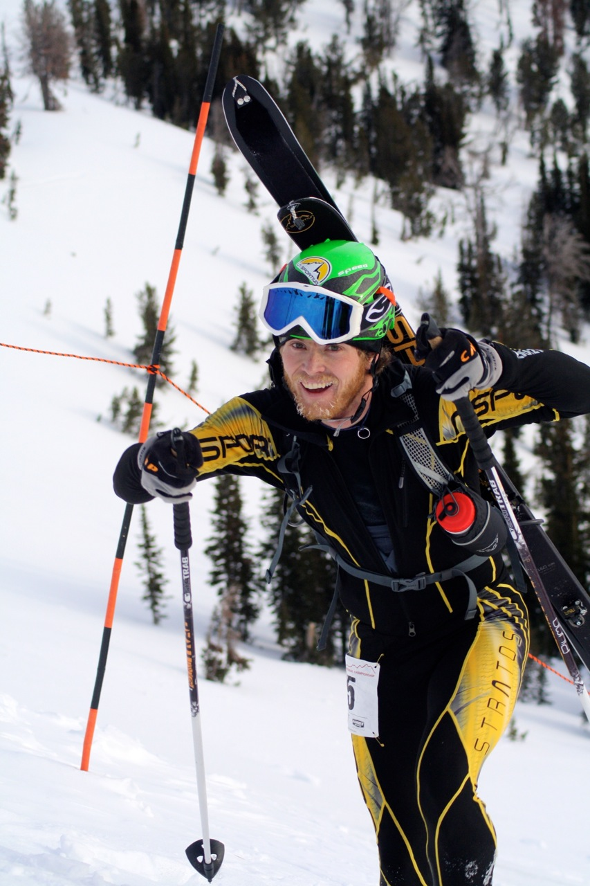 2012 US Ski Mountaineering Champion Luke Nelson