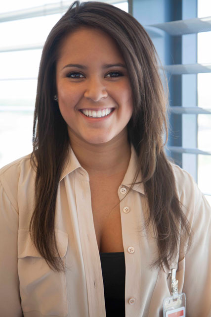 Purdue University senior Alexandria Monterrubio, winner of 2012 Shure Incorporated Get the Gig Internship Competition
