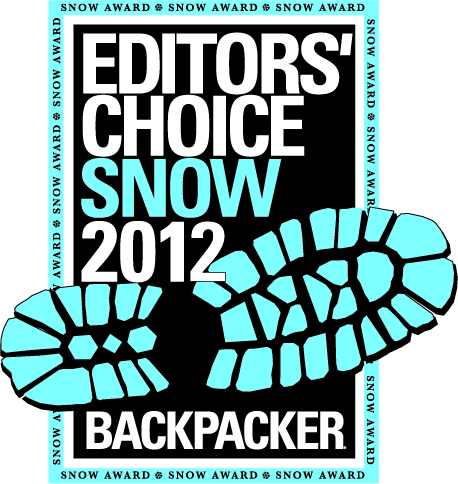 Backpacker 2012 Editors' Choice Snow Award