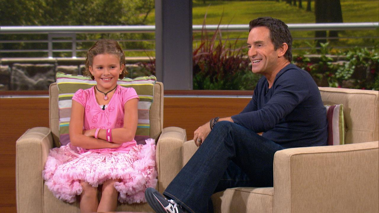 Vivienne Harr on the season premiere of the nationally-syndicated talk show: The Jeff Probst Show - September 10, 2012
