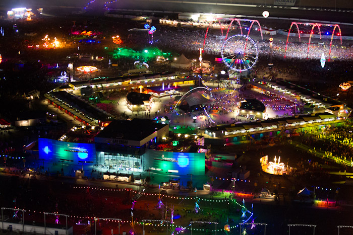 15th Annual Electric Daisy Carnival made its Las Vegas debut in June 2011. The three-day festival will return to Las Vegas Motor Speedway June 8-10, 2012.