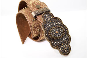 Gem Buckled Belt