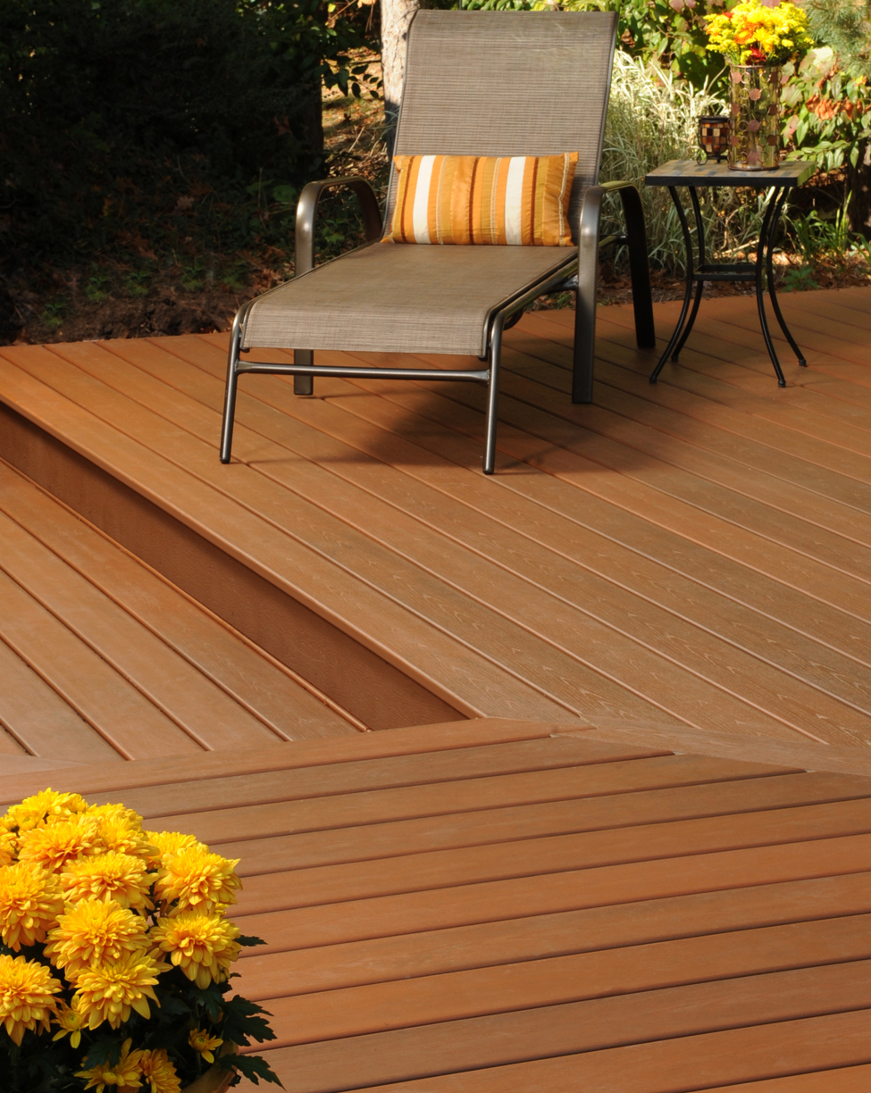 Tropical Looks The Latest In Composite Deck Trends