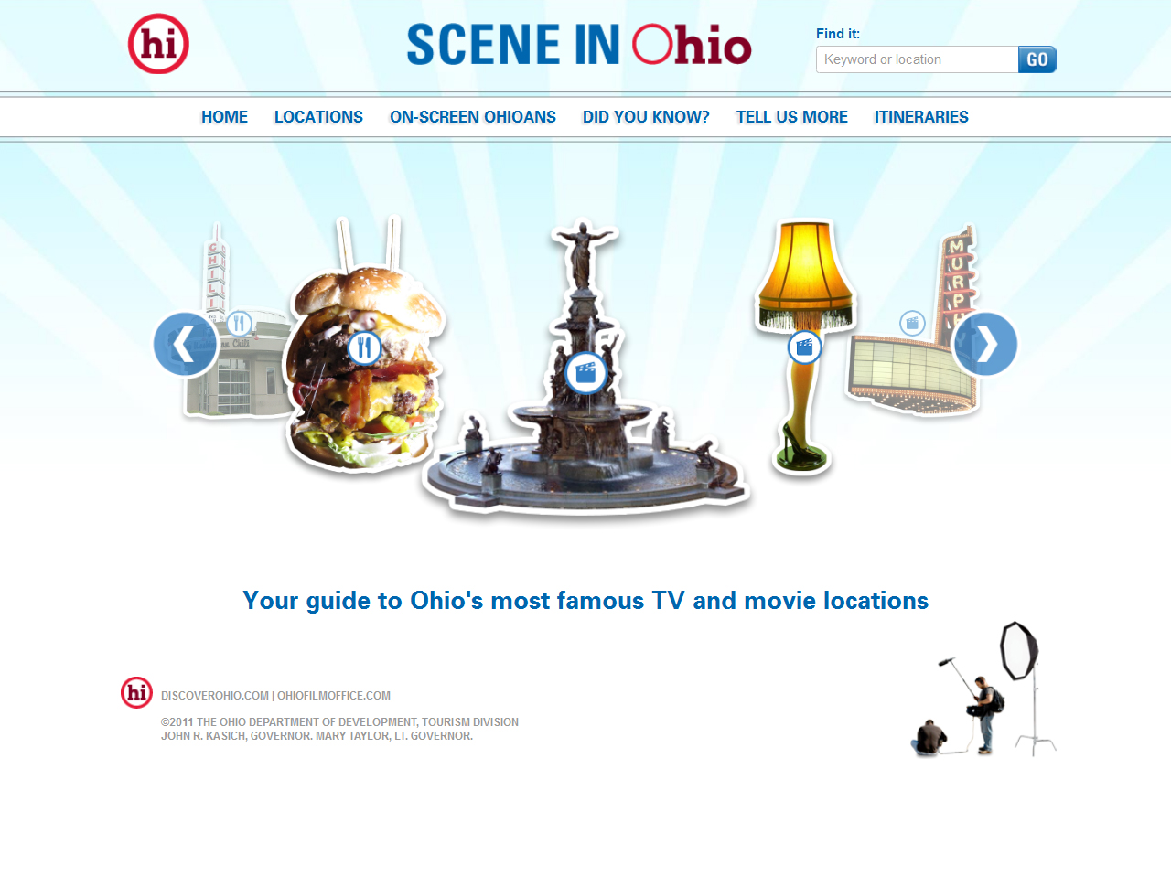 Scene in Ohio Homepage
