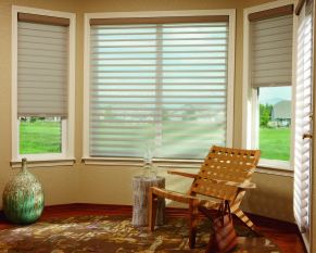 Silhouetter window shadings with LiteRiser