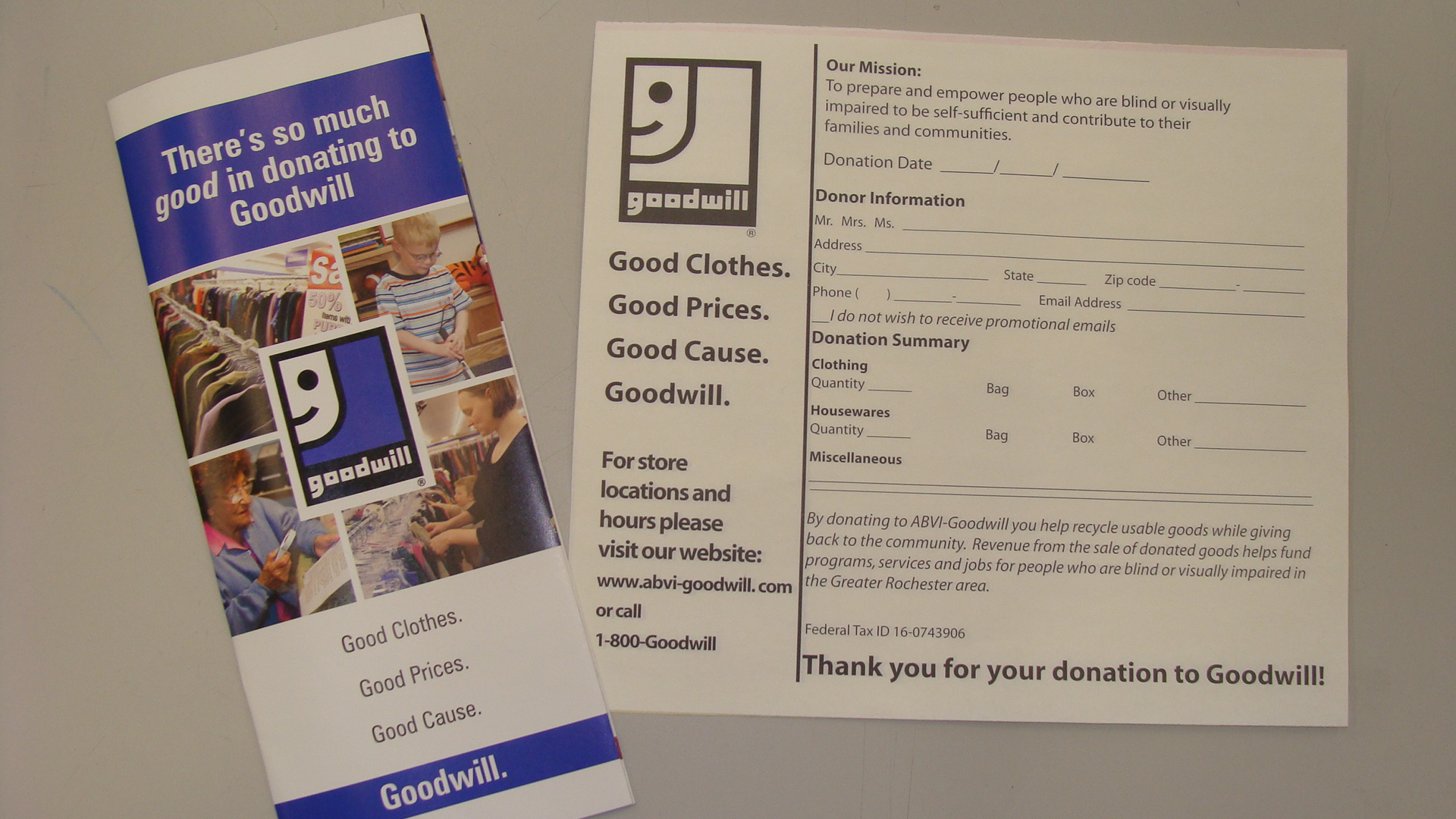 End Of The Year Creates Need For Donations At Abvi Goodwill