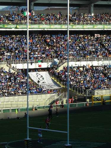 Rome's Stadio Olimpico: could rugby history be created there on 11th February? Picture by Pablo Canateam