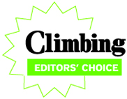 Climbing Magazine awarded its coveted Editors' Choice prize to the La Sportiva Futura in the 2012 Gear Guide.