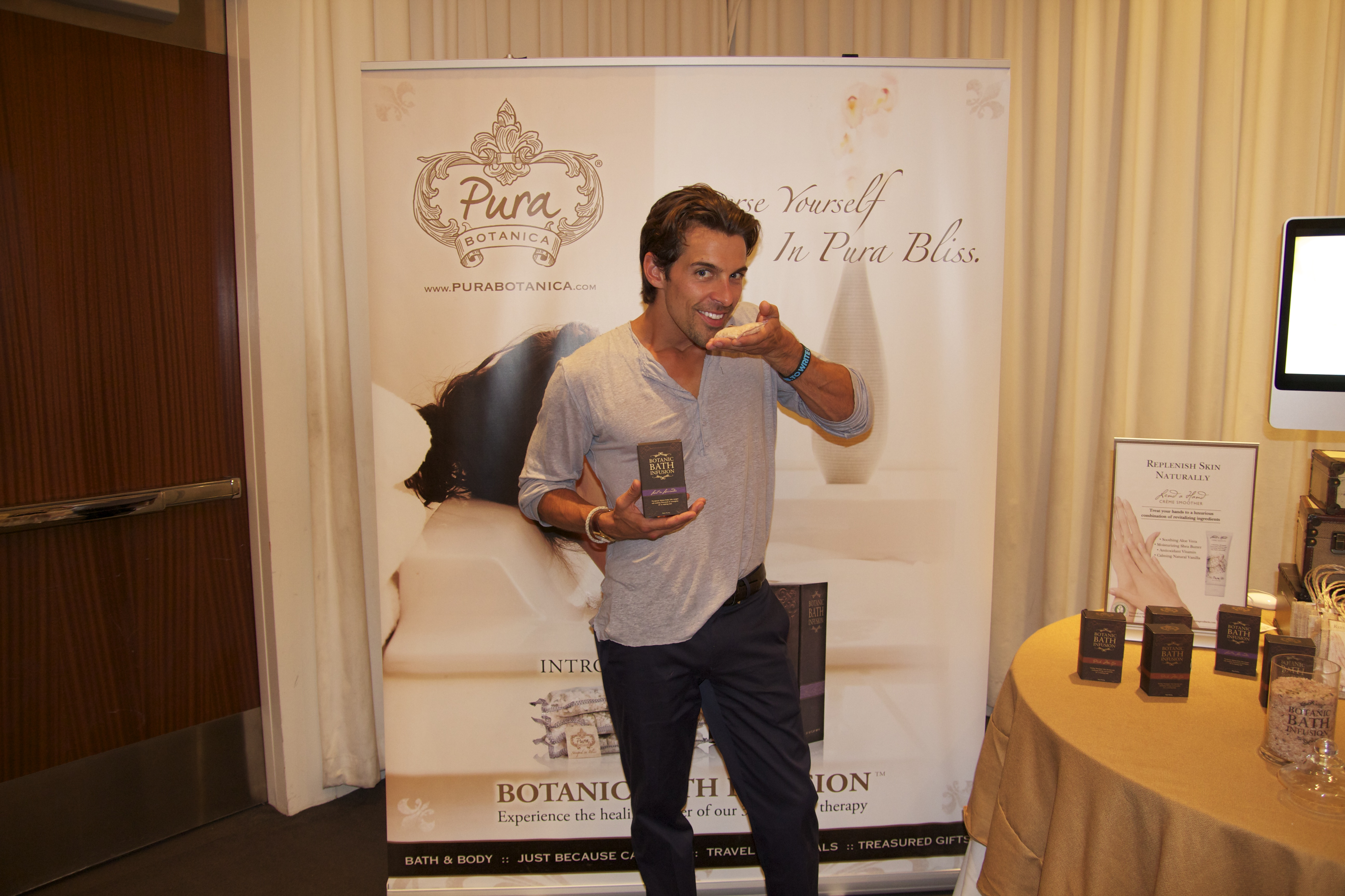 Madison Hildebrand of Bravo TV's Million Dollar Listing loves Pura Botanica products.
