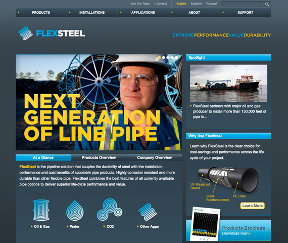 Collaborative Rebranding Campaign of FlexSteel's Corporate and Product Identity