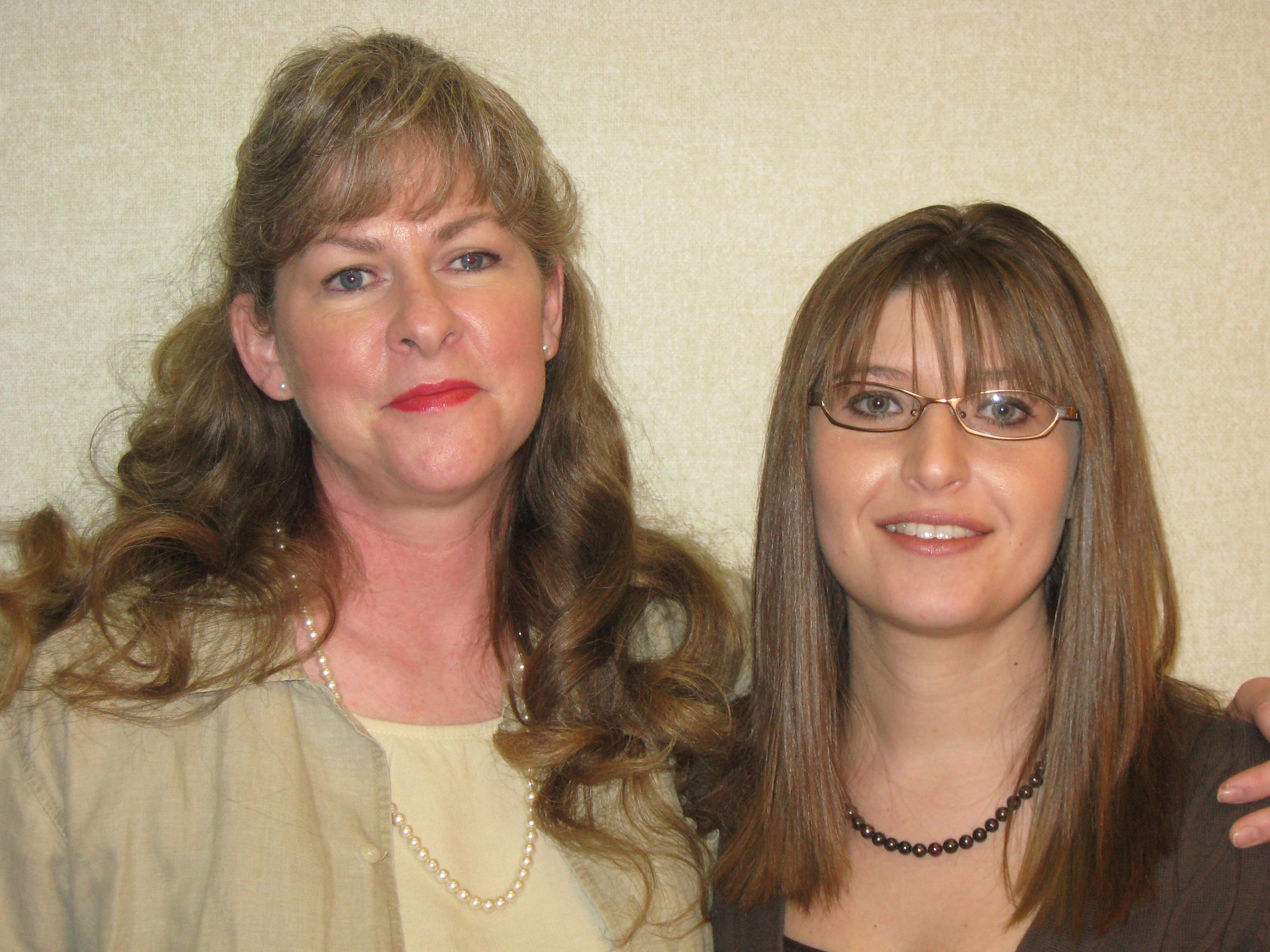 Paula Coates and Amy Gruwell