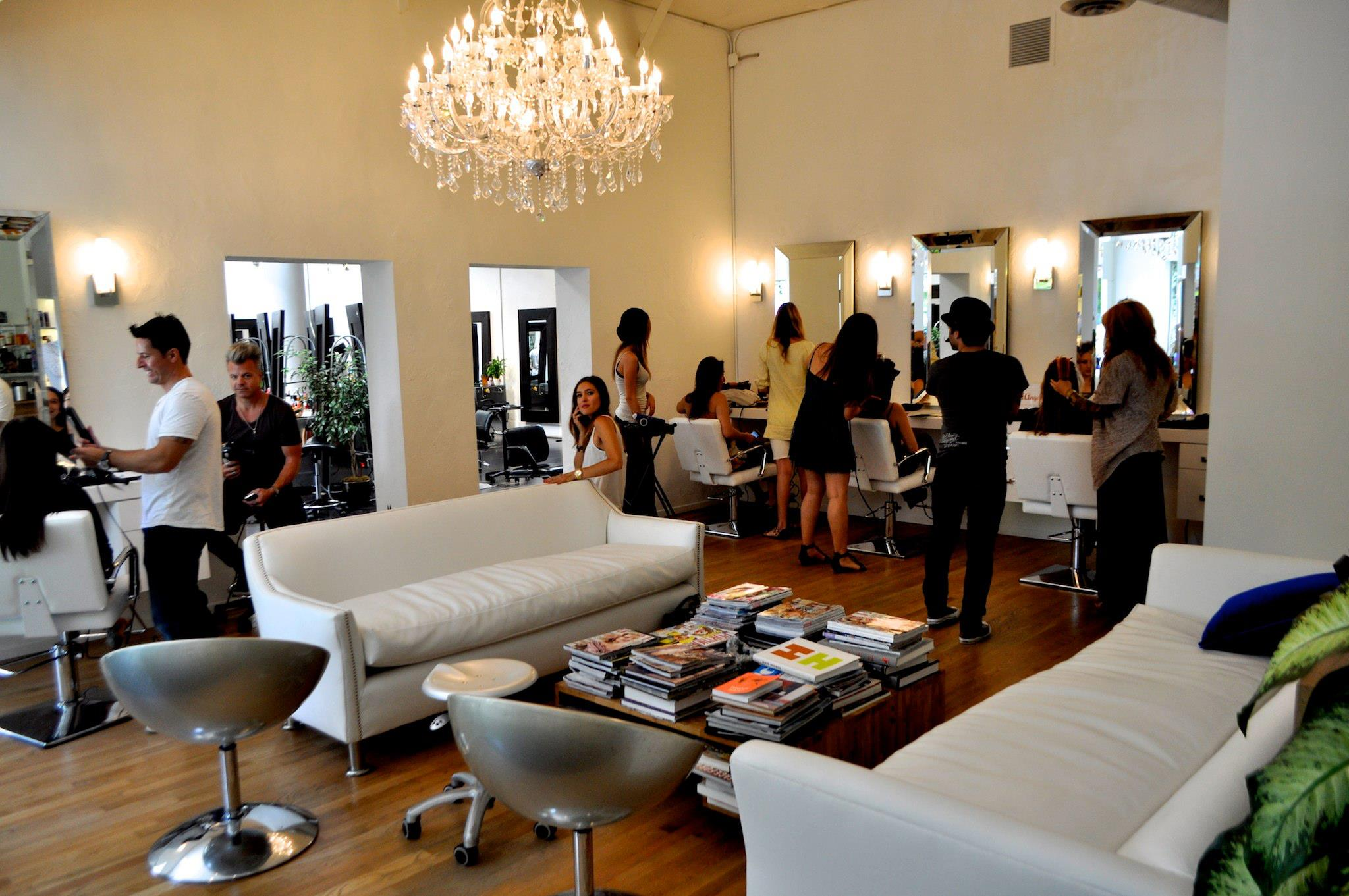 Fred Segal Salon Blow Dry Lounge
