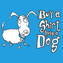 Buy A Shirt Help A Dog Logo