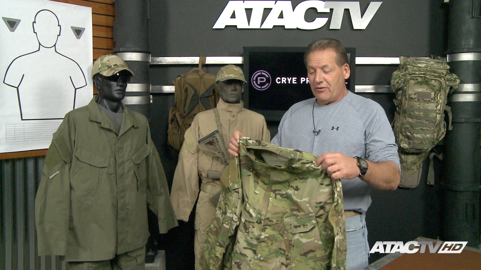 Crye Precision Multi Cam Field Shirt