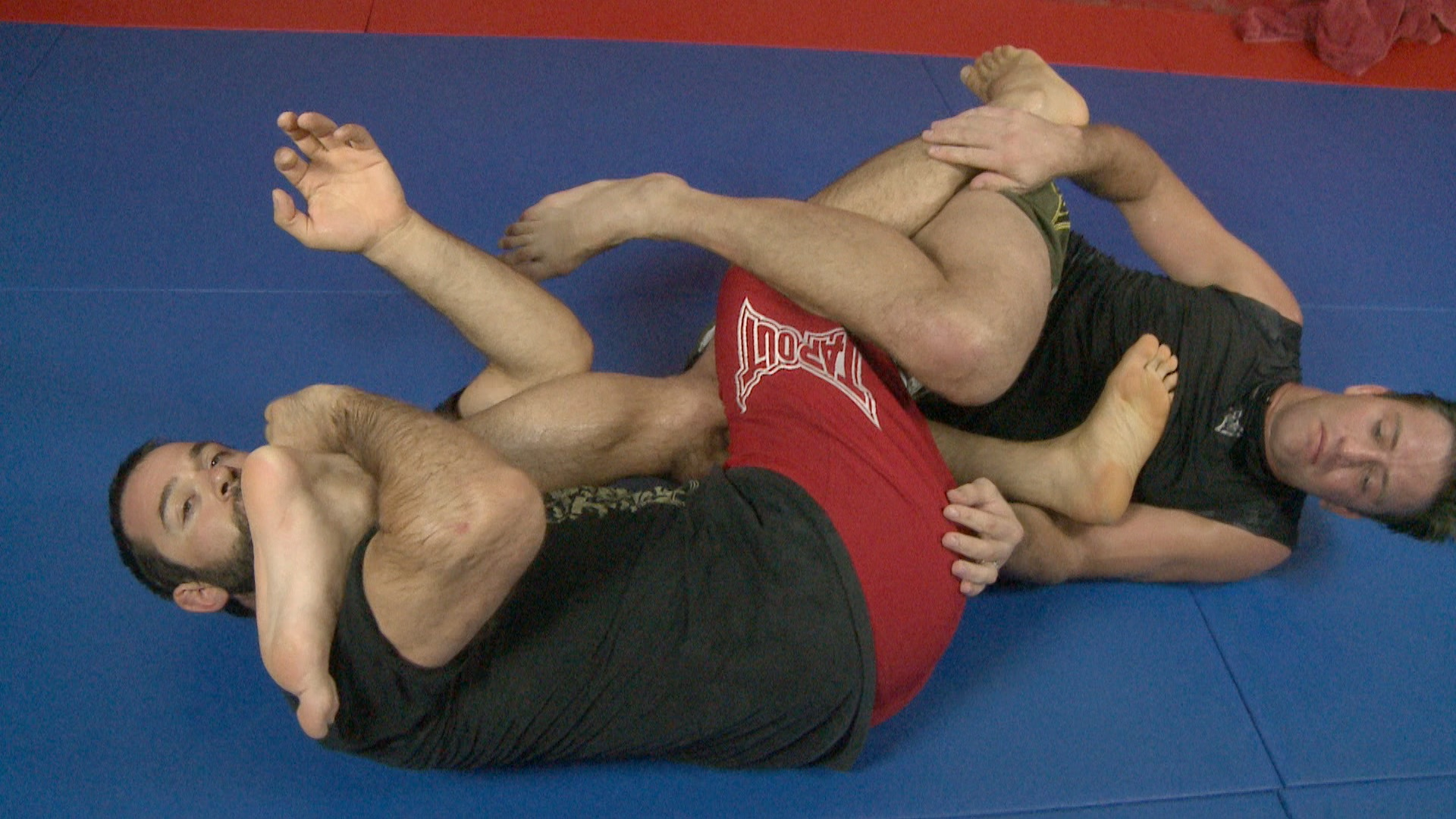ATAC TV MMA Leg Lock From Half Guard
