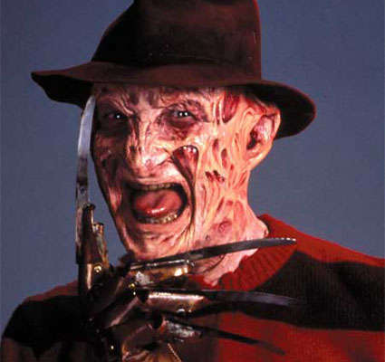 Freddy Krueger, Customer Service Rep for Friday the 13th at crowdSPRING