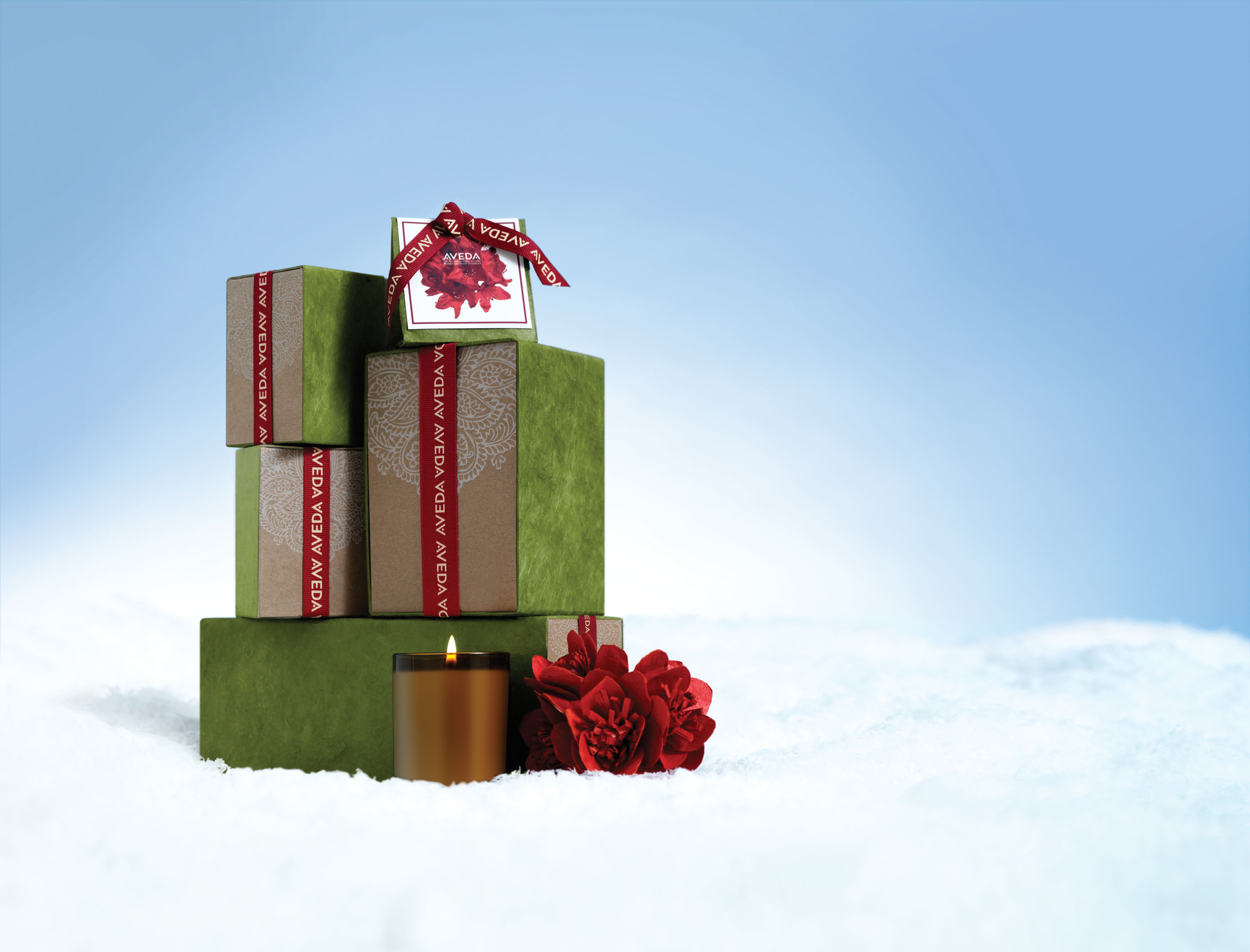 Aveda Tower of Gifts