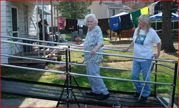 Amramp provides quality wheelchair ramps for our customers throughout the United States.