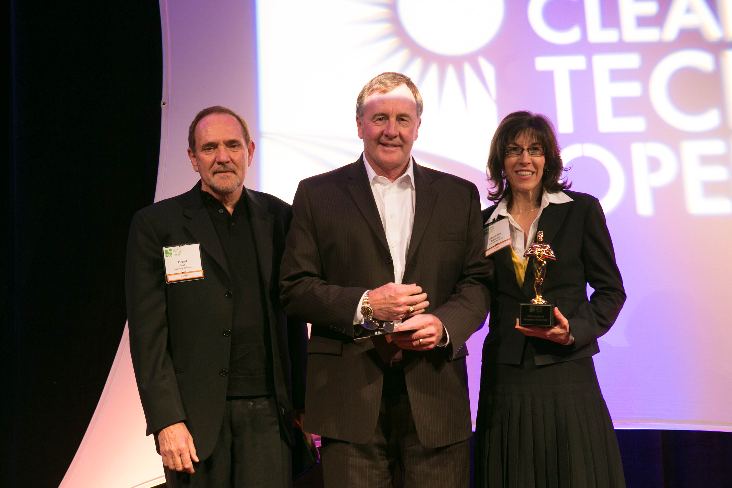 The 2012 Alumni Award was awarded to Dragonfly Solutions from the 2011 Rocky Mountain competition