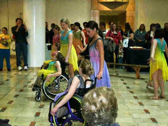Wheelchair dance classes for kids with disabilities were featured at last year's Summer Adventures Expo