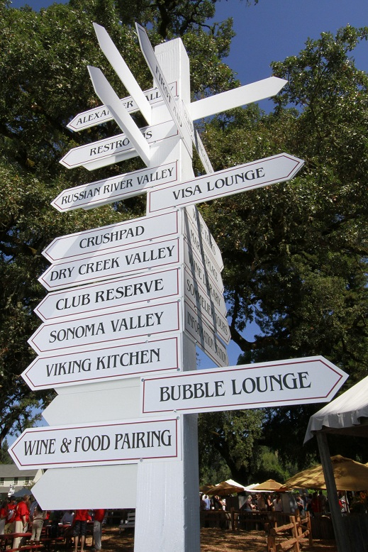 So much to do at Taste of Sonoma at MacMurray Ranch, Sonoma Wine Country Weekend! Photo by PhotoDRO.com