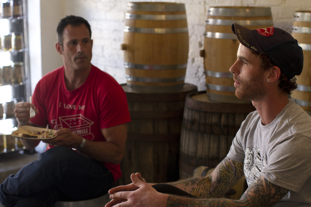Shamus and Sam chat about the Hop-Pickle at Brooklyn Brine.