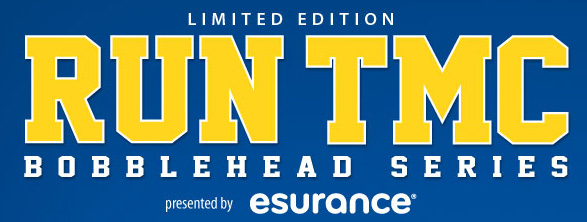 The Run-TMC Bobblehead series, presented by Esurance, is part of the Warriors season-long celebration of 50 seasons in the Bay Area.