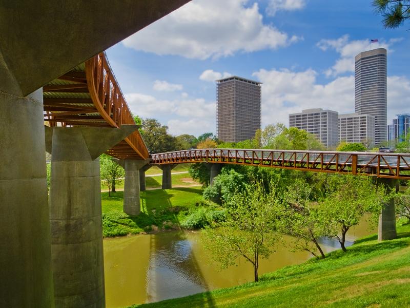 City of houston fetes swa group designed rosemont bridge for Swa landscape architecture