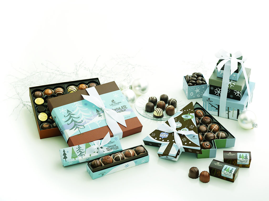 Lake Champlain Chocolates' holiday packaging was recently chosen as a winning design in the 2012 HOW International Design Awards.