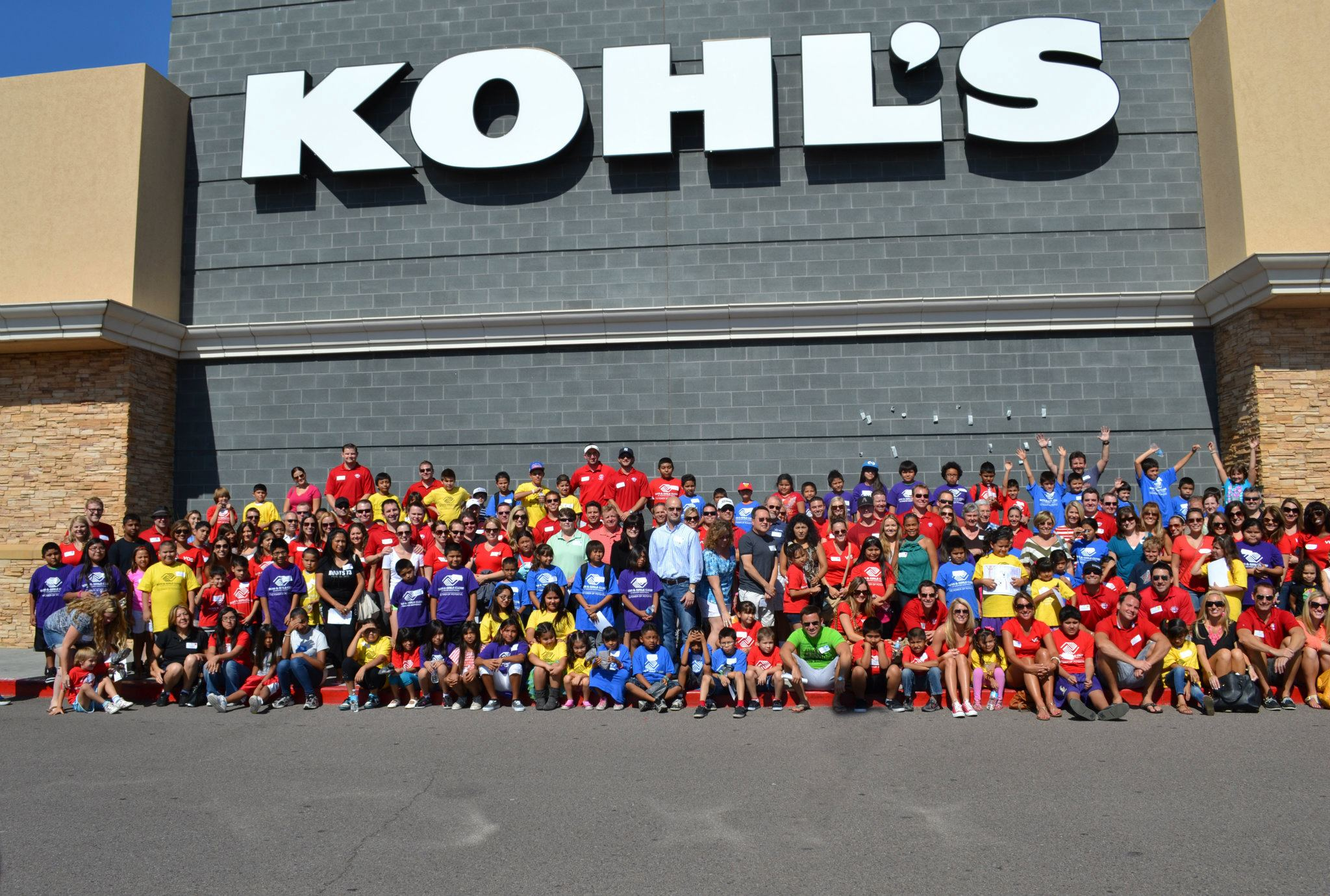 Kohl's gives $100 gift cards to 100 youth.